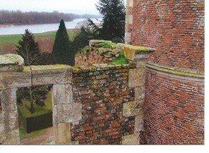 mur du chateau